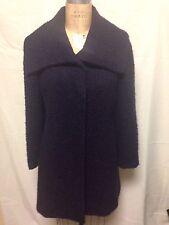 Alfani Boucle Wool Car Coat 2 Purple   New w/ Defects