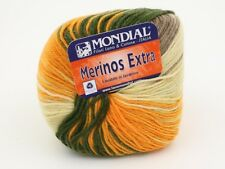 2 Balls of Mondial Merinos Extra Space Dyed Yarn Color 942
