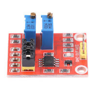 NE555 pulse square module upgrade version adjustable module rectangular wahm