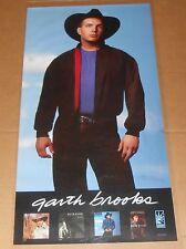 Garth Brooks Poster Ropin' the Wind Original 1991 Promo 38x19