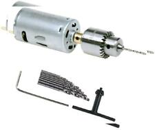 AUTOTOOLHOME Mini DC 12V Electric Hand Drill Motor PCB & Twist Drills Set...