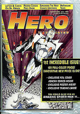 Hero Illustrated  #1 Brand New Bagged Ashcans & cards 1994 Comic News H2
