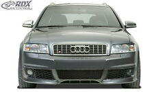RDX Paraurti Audi a4 b6 8e FRONT Paraurti Frontale Grembiule FRONT ANTERIORE SPOILER se
