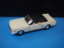 Sunnyside Die Cast 1964 Ford Mustang 1:24 Scale Pull Back Model.