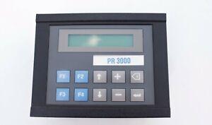 Nematron  IWS-30 Operator Interface Control Panel Display HMI