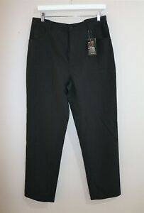 Kenji Urban Brand Men's Black Stretch Work Trouser Pants Size 35 BNWT #SS73