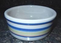 "Vintage Louisville Stoneware Kentucky Blue banded 5"" Pet Dish~VGC~Fast Shipping!"