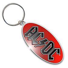 AC/DC logo (metal, oval) Keyring    (ro)