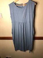 The Masai Clothing Company Cornflower Blue Dress  Size XLStretchy Smart Lagoon