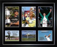 Aussie World Golf No1s Limited Edition Framed Memorabilia