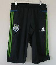 Adidas SEATTLE SOUNDERS F50 3/4 TRAINING shorts-jersey PANT MLS Soccer~Men sz XL