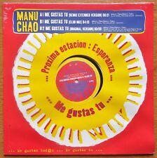 LP Maxi Original de 2001 NEUF & scellé de Manu CHAO - Virgin N° 7243 546089 6 4