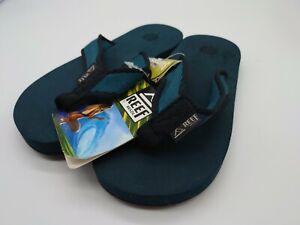 Reef Womens Sandy Summer Beach Holiday Sandals Thongs Flip Flops - green UK 3