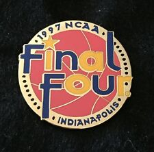 FINAL FOUR PRESS 1997 INDIANAPOLIS PIN NCAA FREE SHIPPING BIN USA ONLY HTF