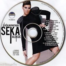 SEKA ALEKSIC CD Slucajni partneri Album 2009 Narodna Muzika Best Hit Folk Grand