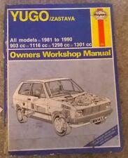 Yugo Zastava - Haynes Manual - 1981 to 1990