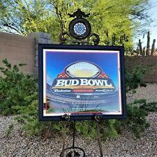 RARE Promotional NFL BUDWEISER Bud Bowl Arizona 2008 Stadium Giants Vs. Patriots