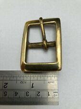 """1"""" Solid Cast Buckle Brass Leatherwork Dog Collars Bags"""