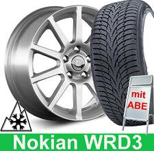 """4x 16"""" ABE Winterräder Diewe + Nokian Winterreifen für Seat Leon Typ 5F"""