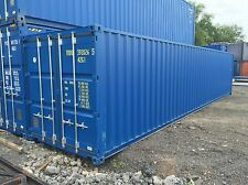 NEW 40ft x 8ft shipping container