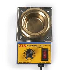Solder Pot Soldering Desoldering Bath Titanium Plate 50mm 220V 150W 100-500℃