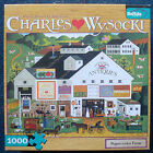 jigsaw puzzle 1000 pc Peppercricket Farms Wysocki Americana Buffalo Games