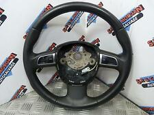 GENUINE AUDI A5 BLACK LEATHER STEERING WHEEL WITH FINGERTIP CONTROLS (07-12)