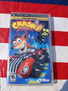 Crash Tag Team Racing [Sony PSP US NTSC] Complete