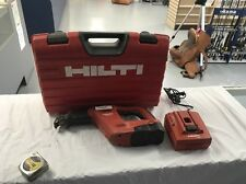 Hilti WSR 650-A Sawzall Reciprocating Saw, 2 Batteries, Charger and case