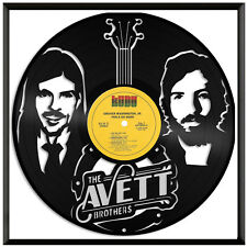 Avett Brothers Vinyl Music Wall Art Record Gift Home Office Decoration Framed