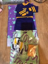 """Magic Attic Club Keisha Cheerleader Outfit For Shoes Scarf Doll 16""""-18"""" New"""
