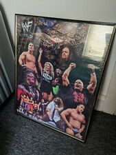 WWF/WWE Framed Poster 1998 - The Rock/Steve Austin and more! Rare!