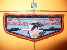 OA Wa Be Wa Wa Lodge 522,F3a,1960s BIG Goose Flap,2/LIFE, Toledo Council,Ohio,OH