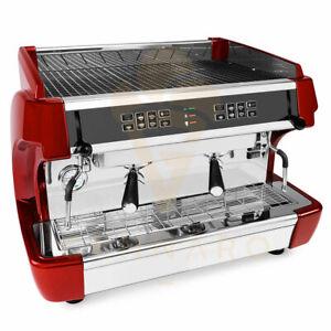 Profi Siebträger Espressomaschine 2 Gruppig | Gastro Kaffeemaschine aus Italien