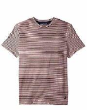 4b1facef84 Nautica Mens Pink Crew Neck Cotton Short Sleeve T-shirt Logo Tee Size S