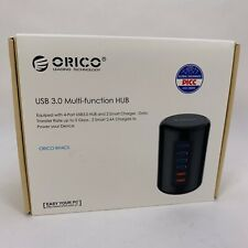 ORICO Powered USB Hub 3.0 4 Ports Multi Function USB Data Splitter + Charger New