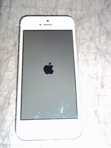 "APPLE IPHONE 5 WHITE SILVER 4"" SCREEN UNLOCKED EUC A1429 MD655LL/A VERIZON L@@K"