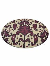 New Transitional Floral Large Round 12x12 Oushak Oriental Area Rug Wool Carpet