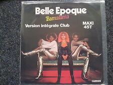 "Belle Epoque-Bamalama 12"" vinile discoteca 1977"