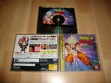DRAGON BALL Z SHIN BUTOHDEN DE BANDAI PARA SEGA SATURN USADO VERSION JAPONESA