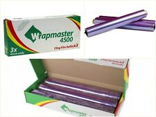 """Clingfilm Refills for Wrapmaster 4500 - 45cm X 300m, 3 X 18"""" Refill"""