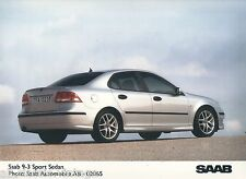 PRESS - FOTO/PHOTO/PICTURE - SAAB 9-3 Sport Sedan AB-02065