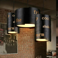 Vintage Industrial Style Ceiling Light Modern Coffee Retro Metal Pendant Light