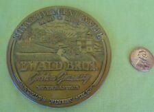 Vintage Bronze Dairy Medal EWALD BROS MINNEAPOLIS MN 1949 Golden Guernsey Cow