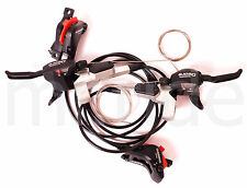 Shimano Deore ST-M535 Dual Control Shifter,Disc Disc Brake set Hydraulic F+R