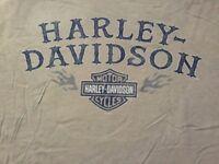 Harley Davidson Stay Maintained Tan Shirt Nwt Men's Medium