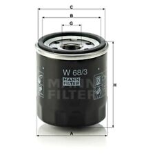 Mann Oil Filter Spin On For Daihatsu Charmant 1.3