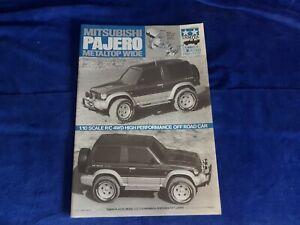Tamiya Vintage 1/10 58132 Mitsubishi Pajero Metaltop Wide 1993 Aufbauanleitung