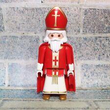 Playmobil prêtre évêque cardinal chruch figure