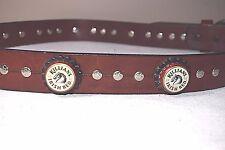 Killian's Irish Red Bottle Cap Leather Belt Irish Beer Lager Hand Made Western